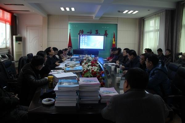 九江三中2014年工作得到市教育局目标管理考评小组高度评价;